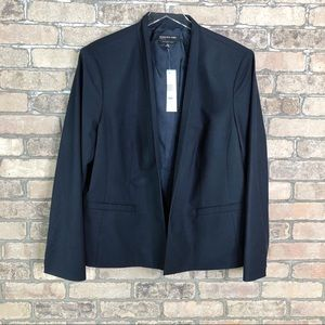 Jones New York Blazer Drape Jacket Career Office